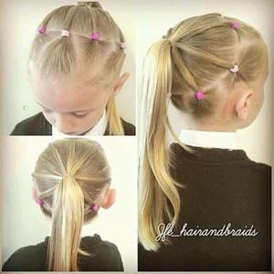 peinados para nias fciles de hacer