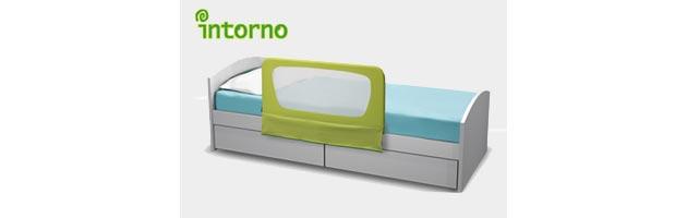 la baranda se puede poner en todos los anchos de camas sin tornillos ni sobre tu cama
